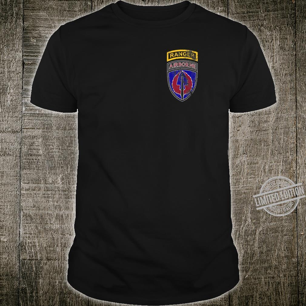 160th SOAR USASOAC Nightstalkers Ranger Distressed Worn Shirt