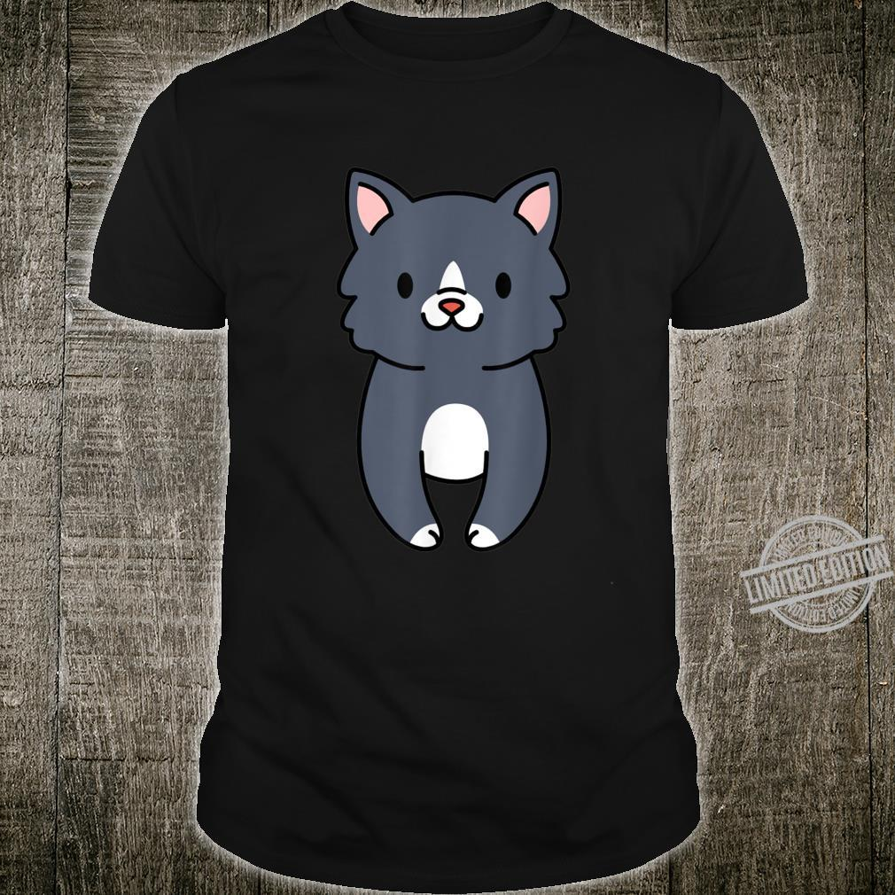 2Sided Cat Butt Back and Front Cat Shirt