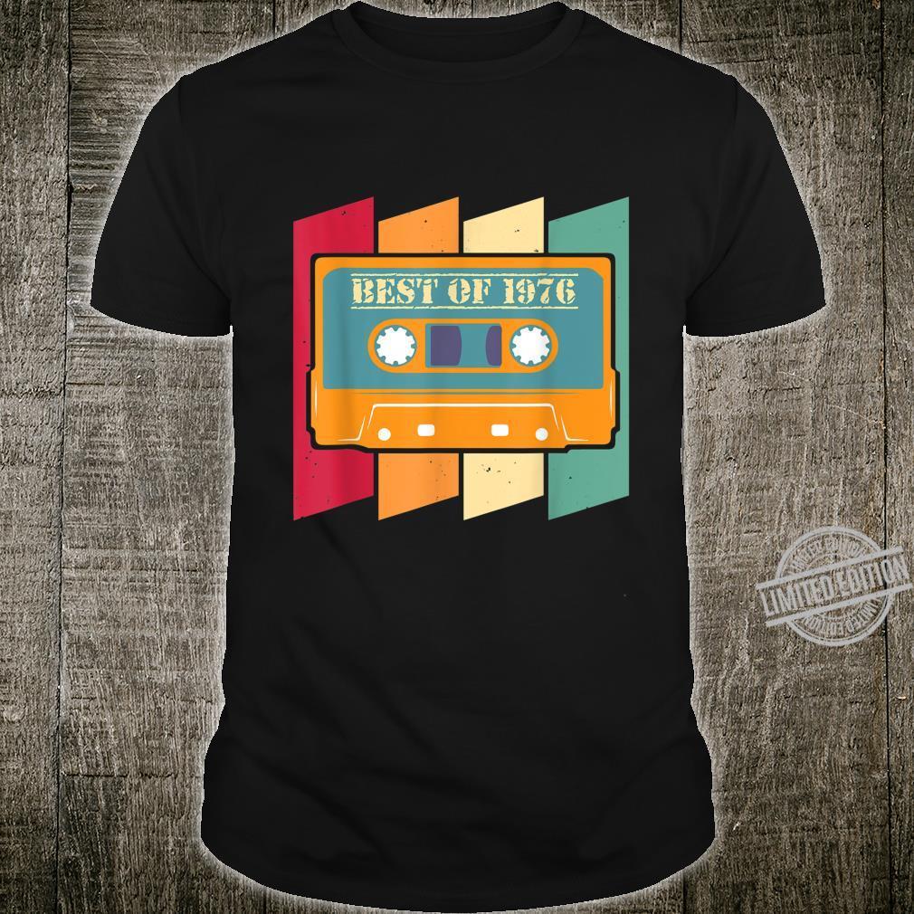 44th Birthday Best Of 1976 Shirt