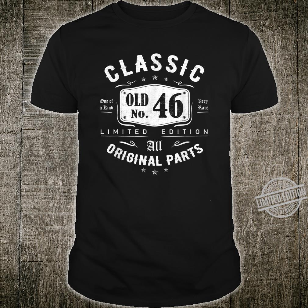 46 Years OLD Birthday Classic 1974 Vintage 46th Birthday Shirt