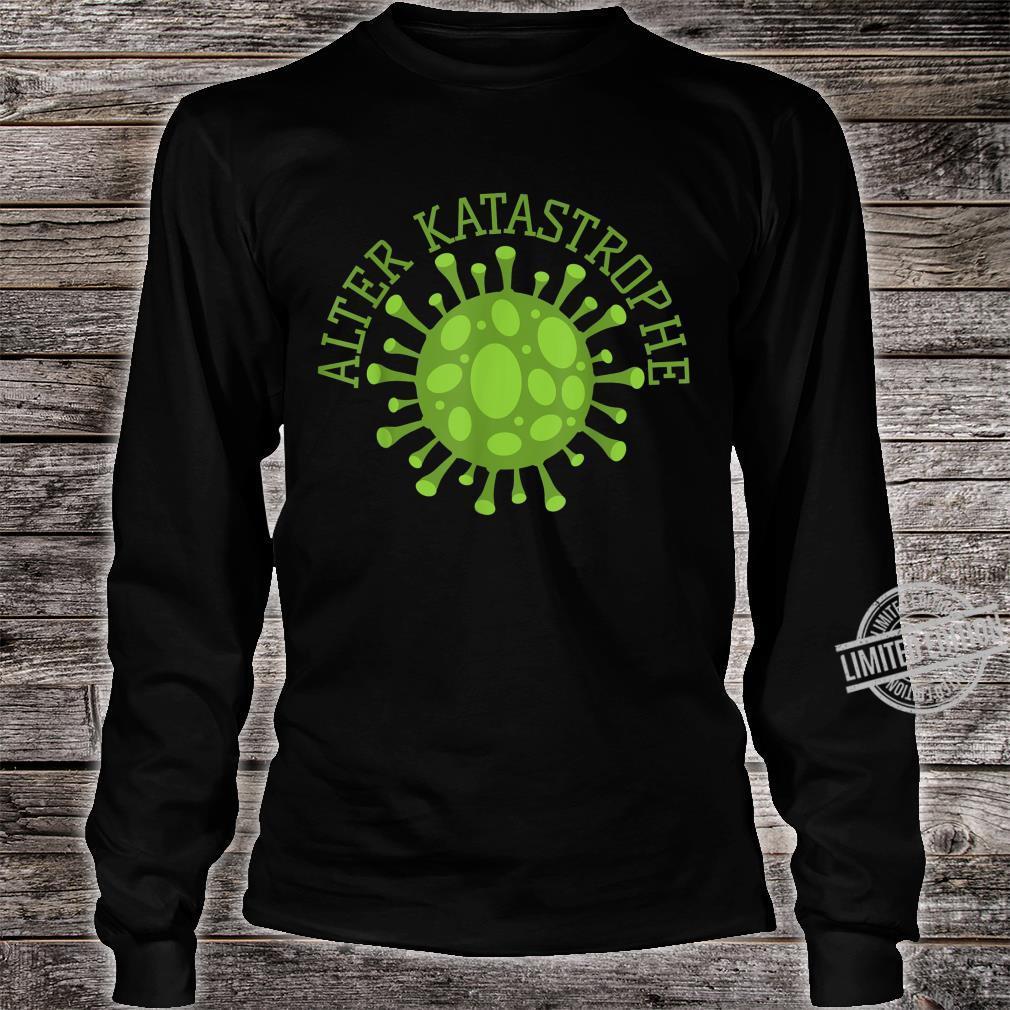 Alter Katastrophe Virus Pandemie Vintage Shirt long sleeved