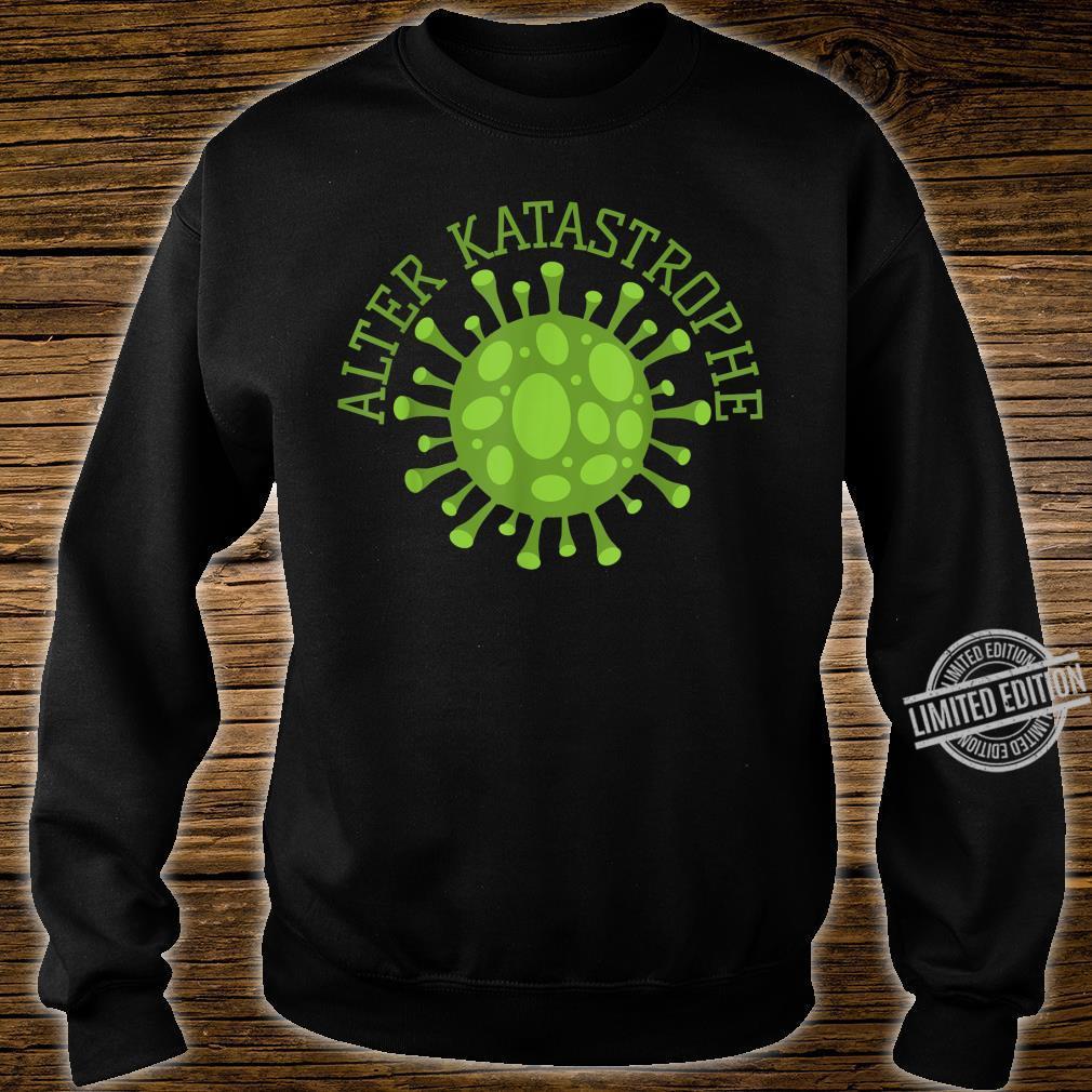 Alter Katastrophe Virus Pandemie Vintage Shirt sweater