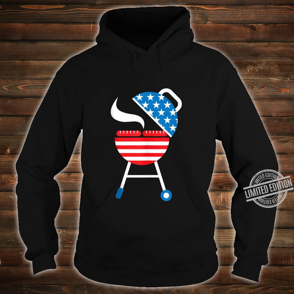 America Barbeque 4th Of July USA Flag Merica Dad Shirt hoodie