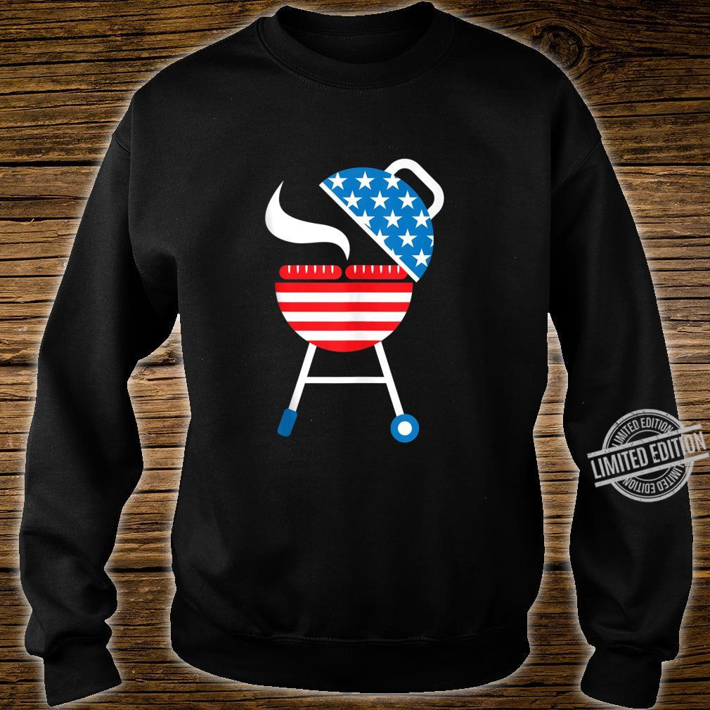 America Barbeque 4th Of July USA Flag Merica Dad Shirt sweater
