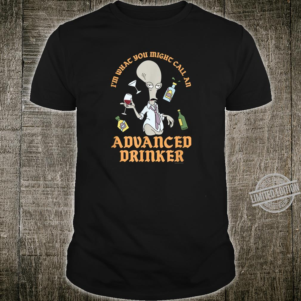 American Dad Advanced Drinker Shirt