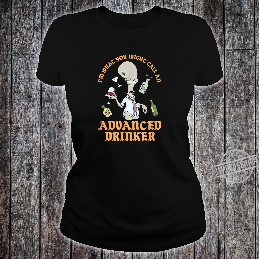 American Dad Advanced Drinker Shirt ladies tee