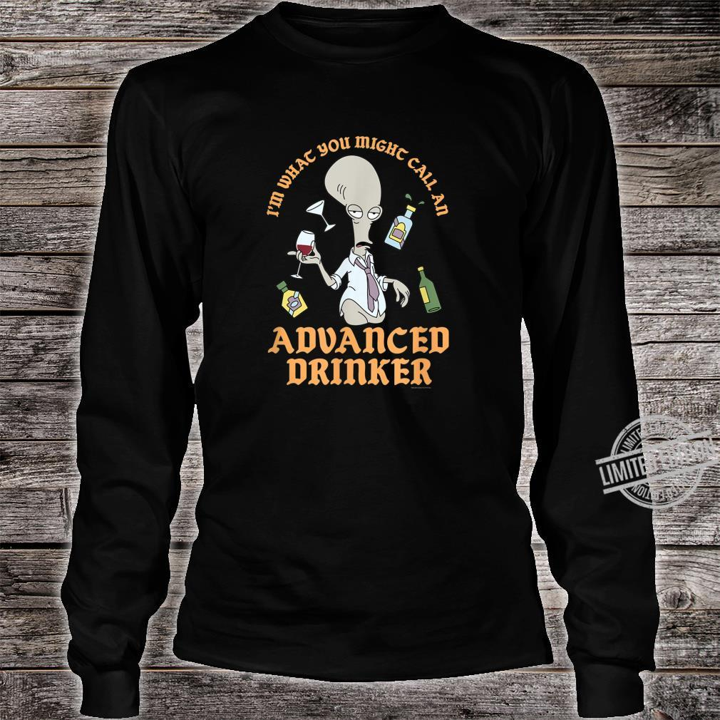 American Dad Advanced Drinker Shirt long sleeved