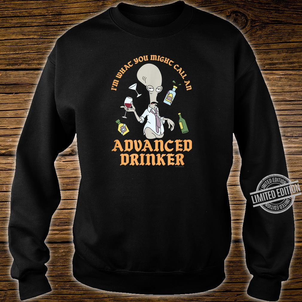 American Dad Advanced Drinker Shirt sweater