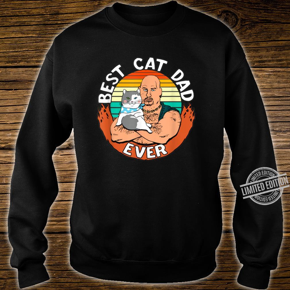 Best Cat Dad Ever Cat Dad Father Vintage Shirt sweater