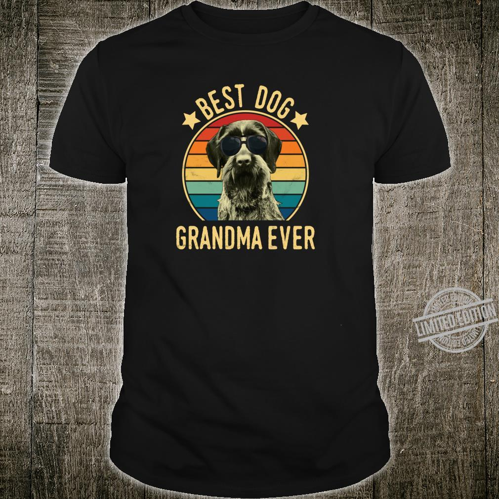 Best Dog Grandma Ever German Wirehaired Pointer Mother's Day Shirt