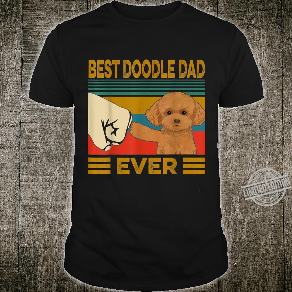 Best Goldendoodle Dad Ever Shirt