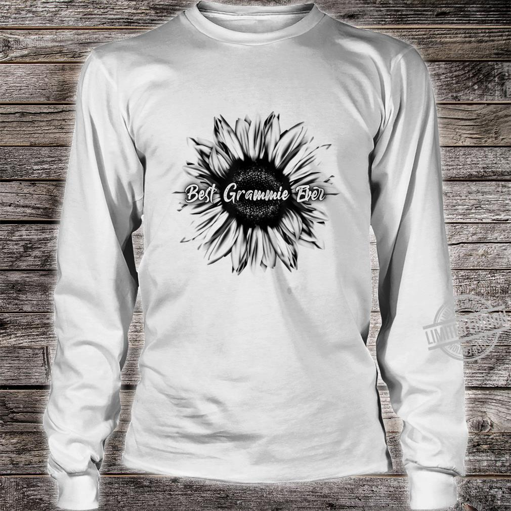 Best Grammie Ever Sunflower Mothers Day Shirt long sleeved