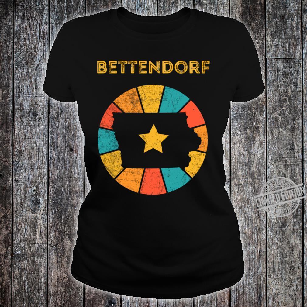 Bettendorf Iowa Shirt ladies tee