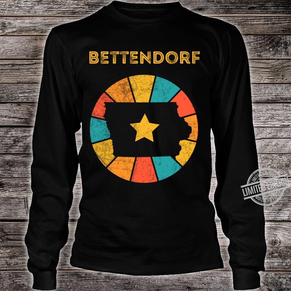 Bettendorf Iowa Shirt long sleeved