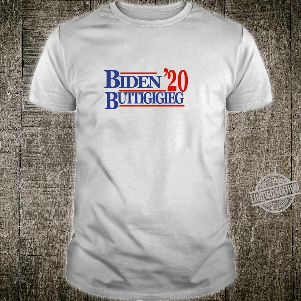 Biden Buttigieg 20 Classic Langarmshirt Shirt
