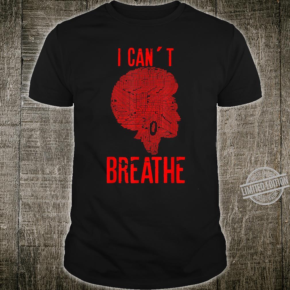 Black Lives Matter I Can't Breather Black Pride Shirt
