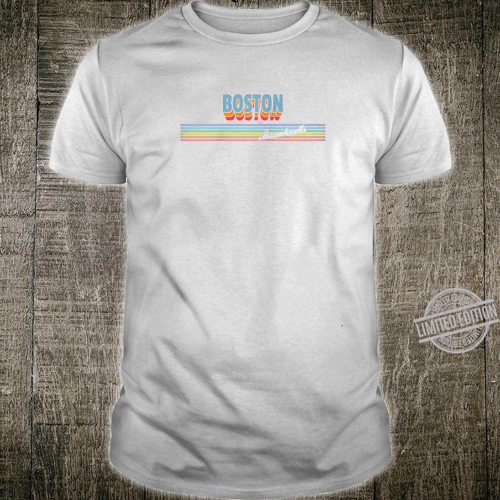 Boston Massachusetts MA Retro Souvenir Shirt