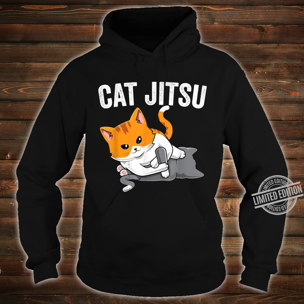 Brazilian Jiu jitsu Kawaii cat BJJ & MMA grappler Shirt hoodie