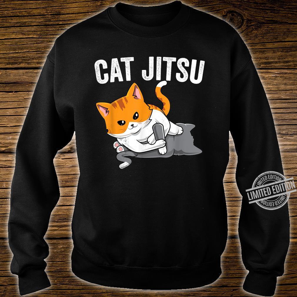Brazilian Jiu jitsu Kawaii cat BJJ & MMA grappler Shirt sweater
