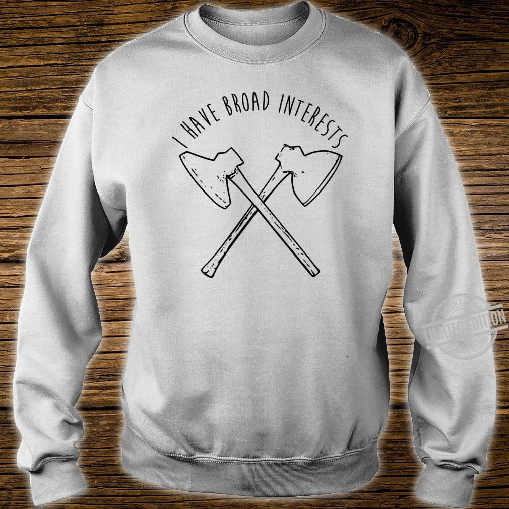 Broad Axe Log Cabin Hewing Tools Shirt sweater