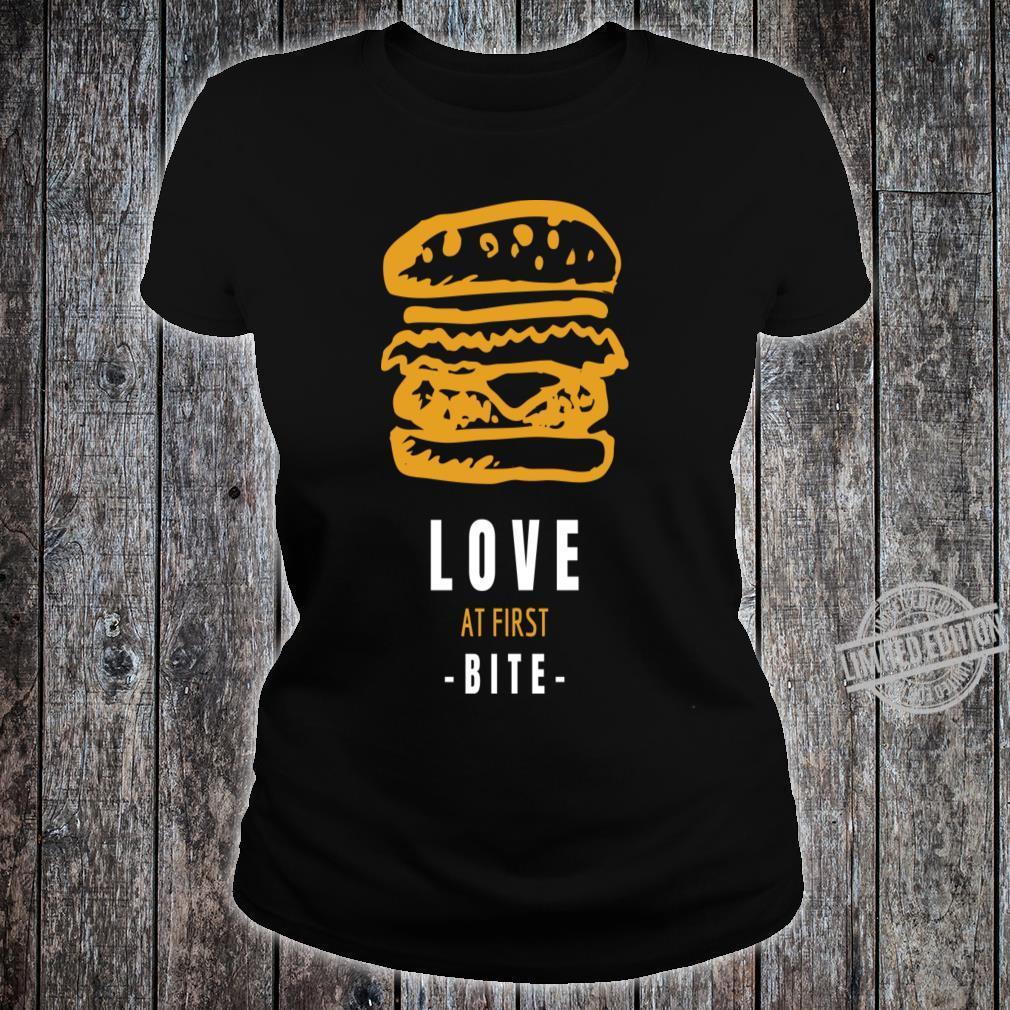 Burger Shirt ladies tee