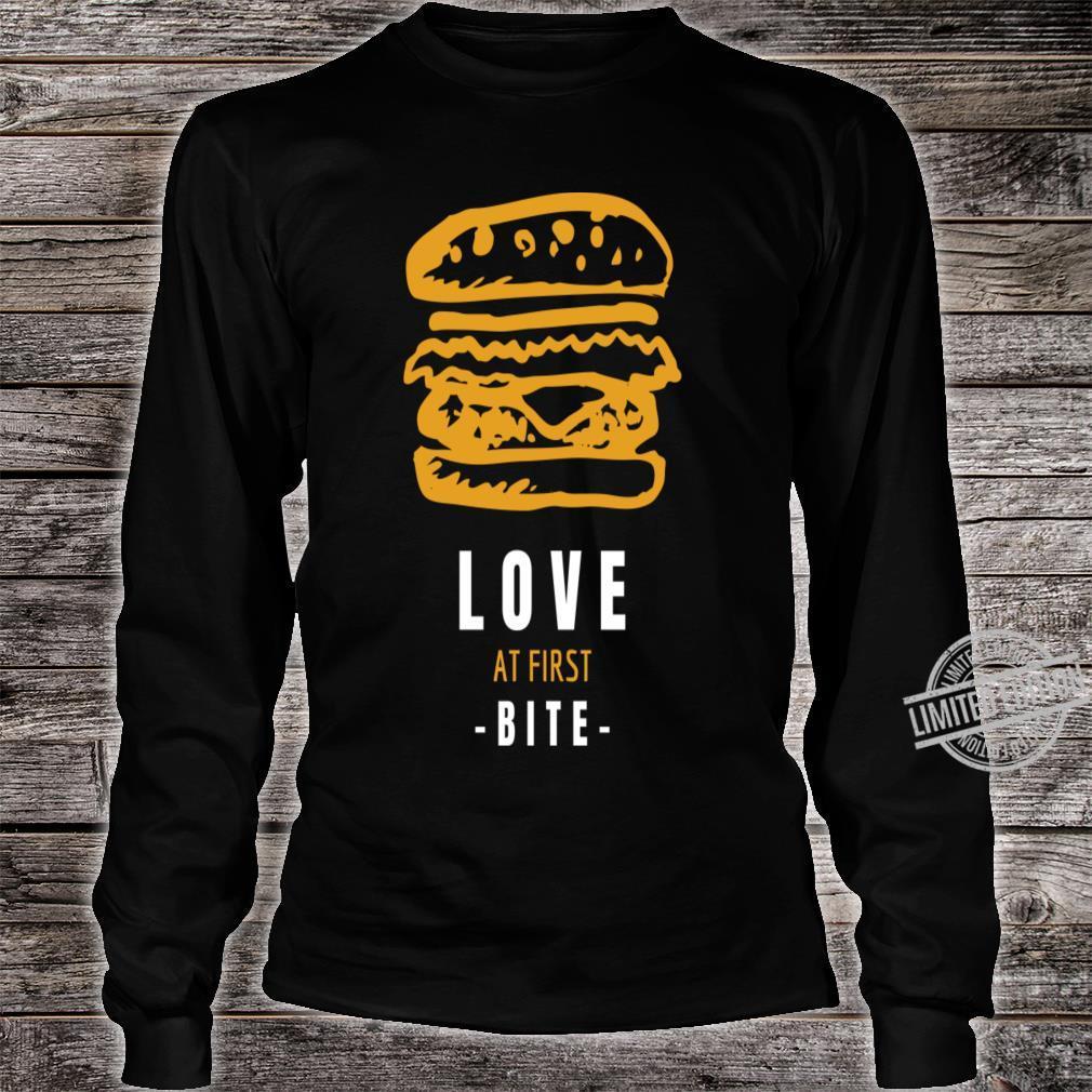 Burger Shirt long sleeved