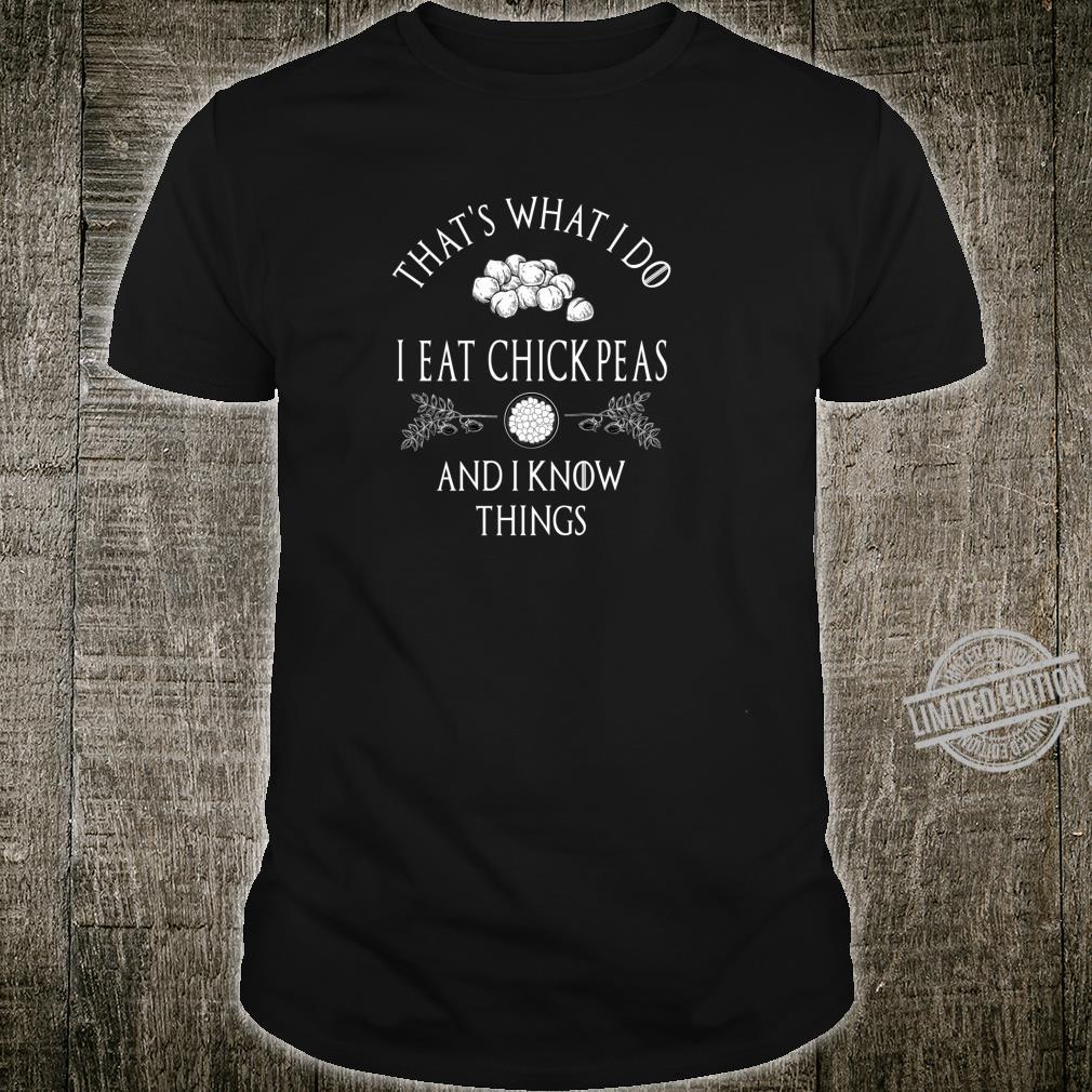 CHICKPEA HUMUS FALAFELS PARODY QUOTE Shirt