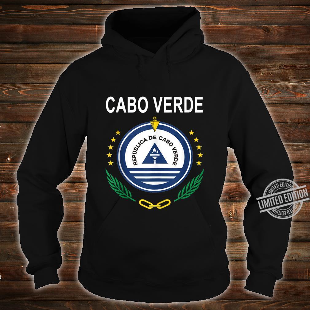 Cabo Verde National Emblem Design Shirt hoodie