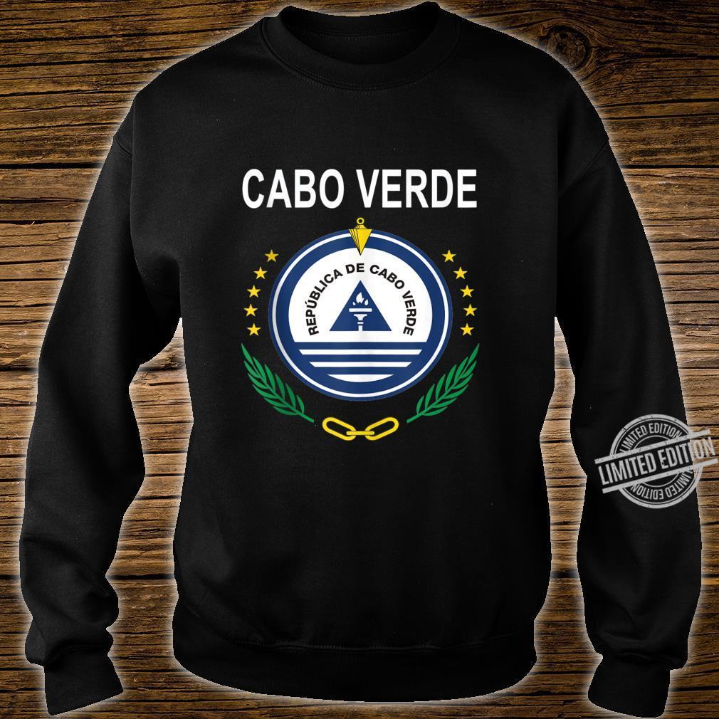 Cabo Verde National Emblem Design Shirt sweater