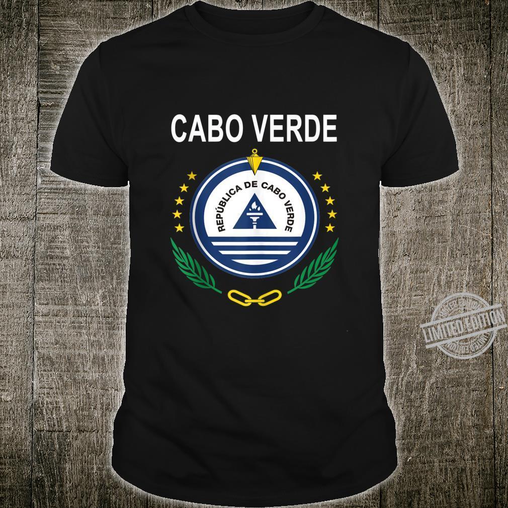 Cabo Verde National Emblem Design Shirt