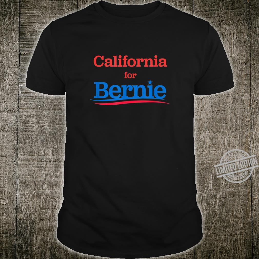 California for Bernie Sanders 2020 Shirt