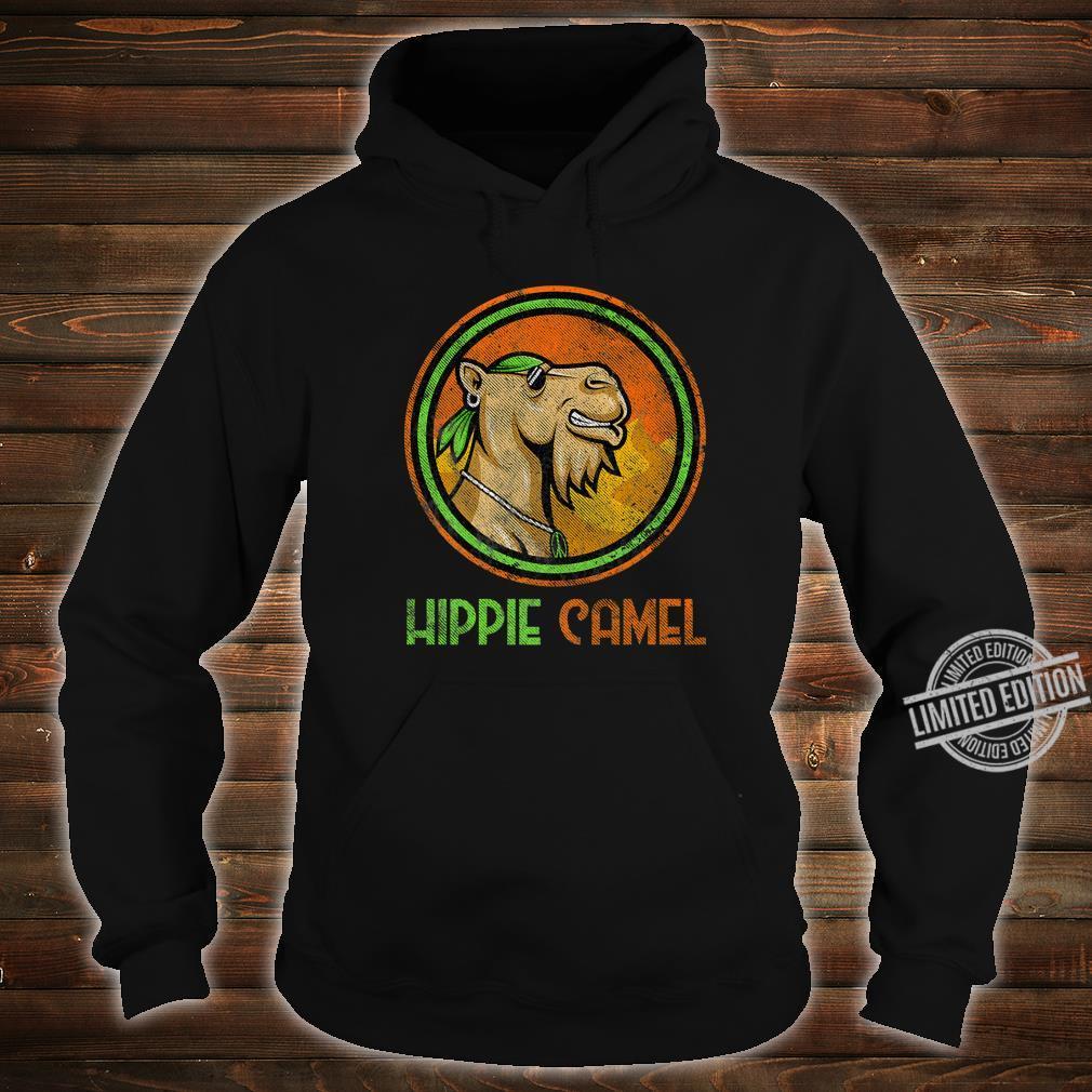 Camel Hippie Retro Distressed Vintage Bandanna Hippie Camel Shirt hoodie