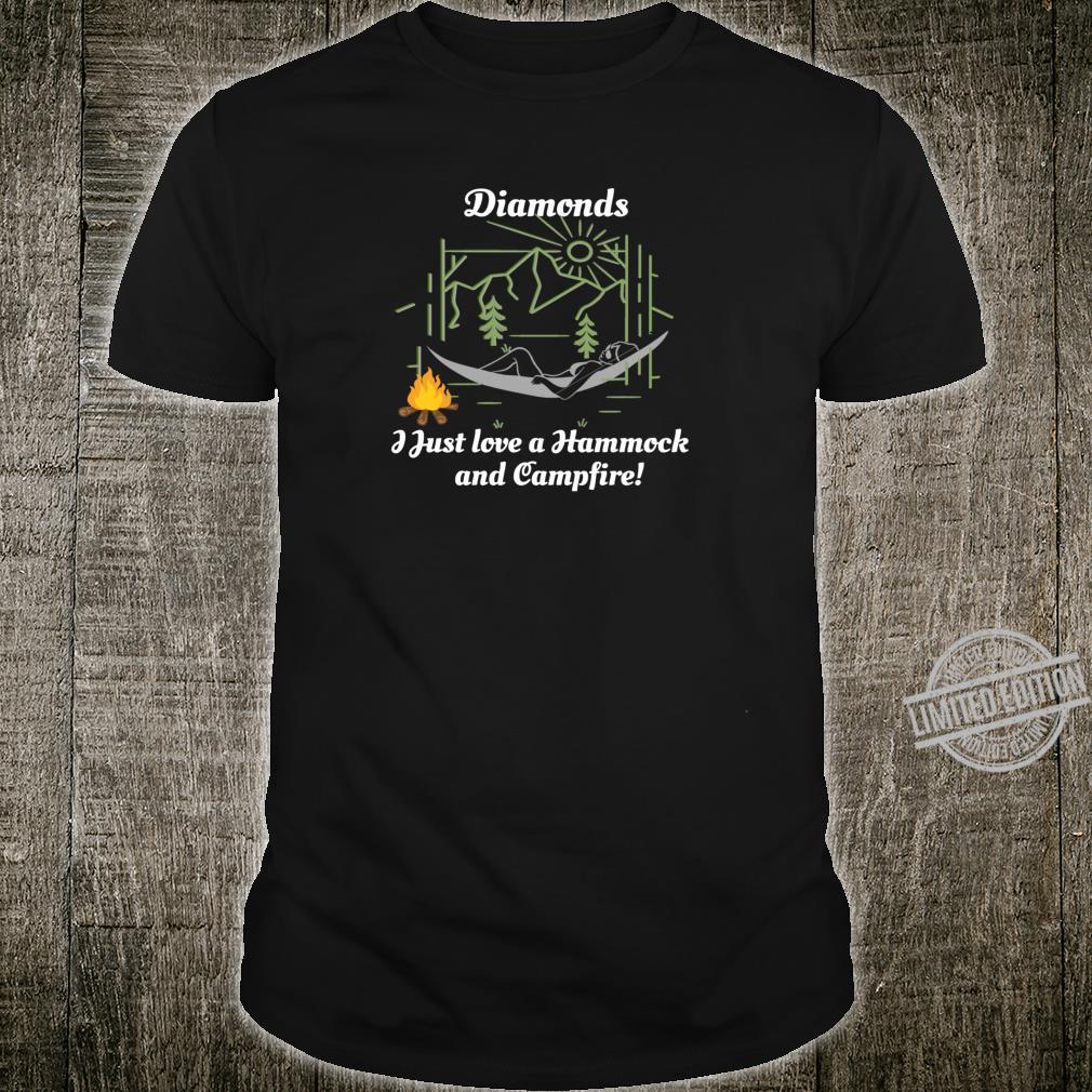 Camper National Parks Attire I Just Love a Hammock Campfire Shirt