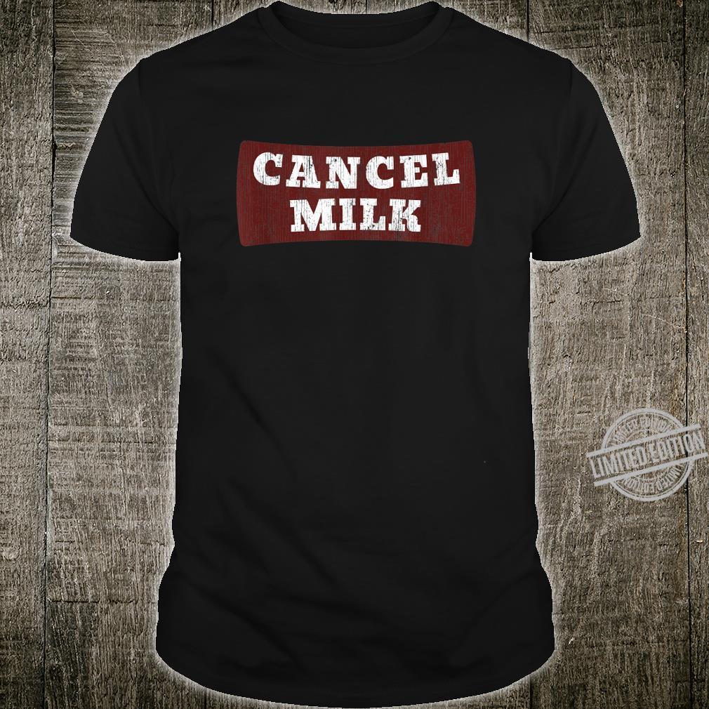 Cancel Milk Shirt
