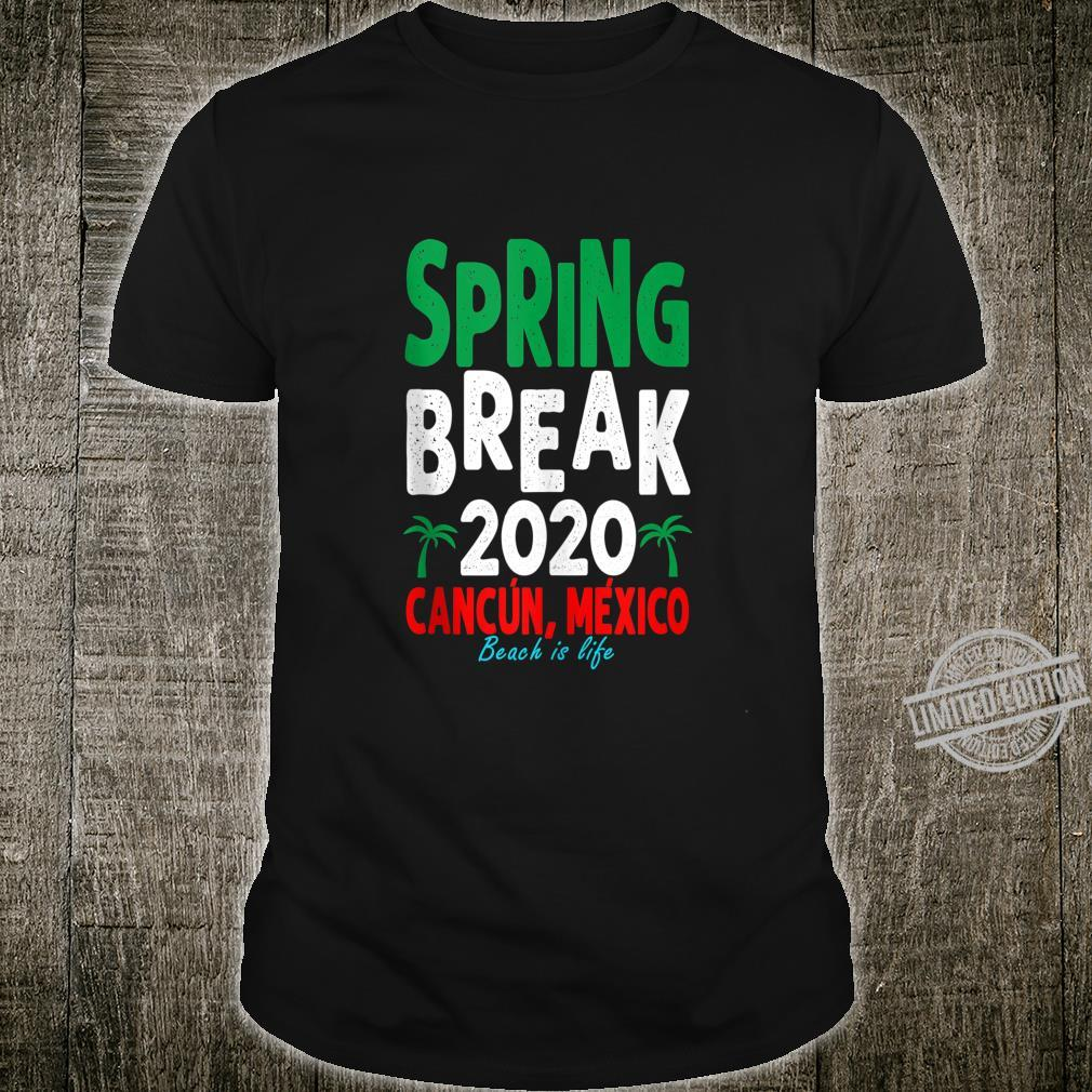 Cancun Spring Break 2020 Shirt Matching Group Vacation Shirt