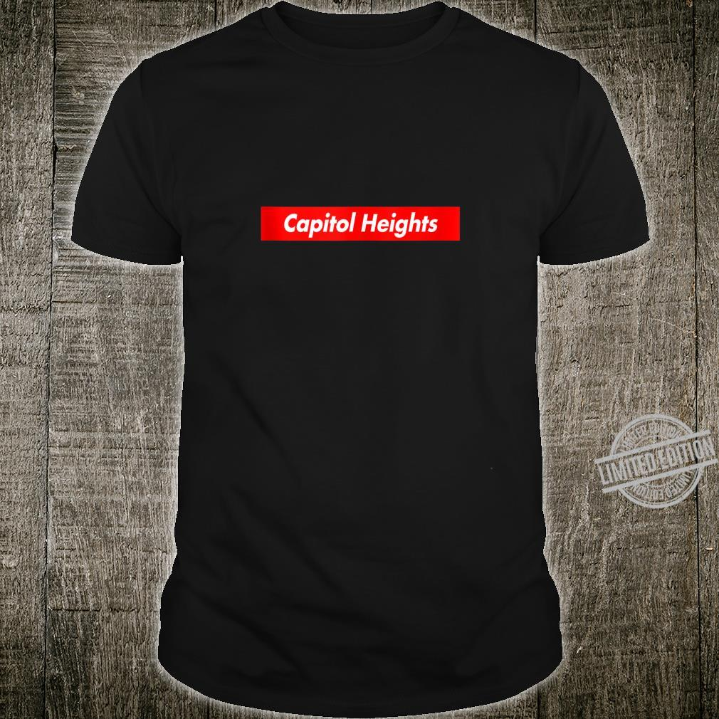 Capitol Heights PA Pennsylvania Box Logo Super Parody Shirt