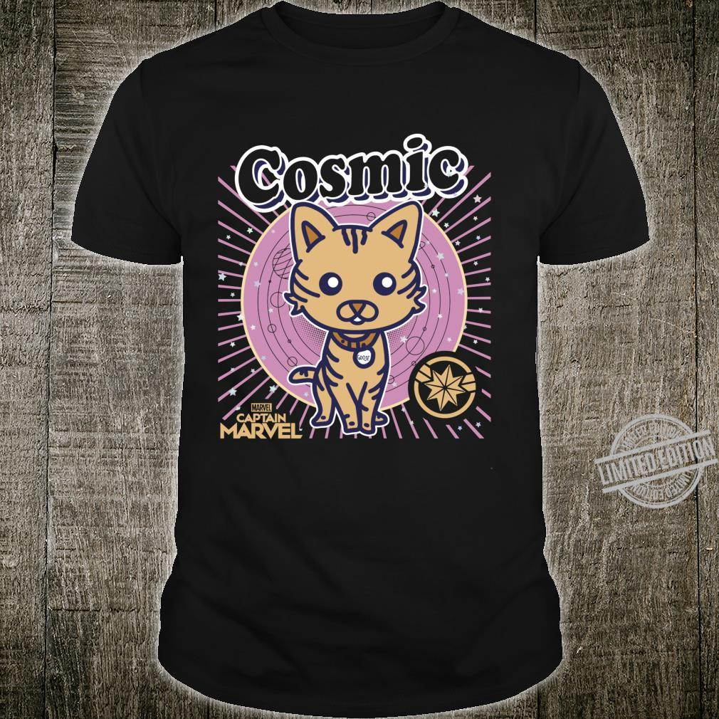 Captain Marvel Goose Cosmic Cartoon Shirt