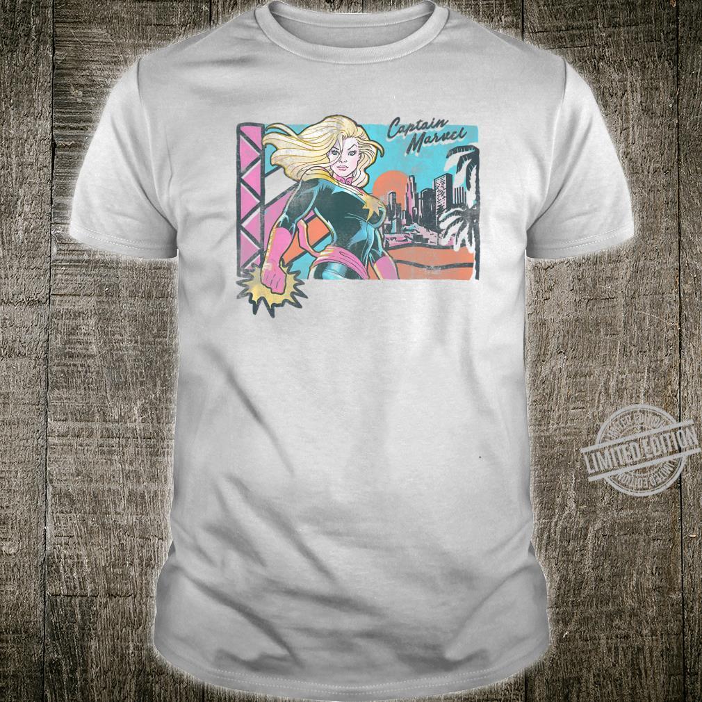 Captain Marvel Retro Beach Shirt