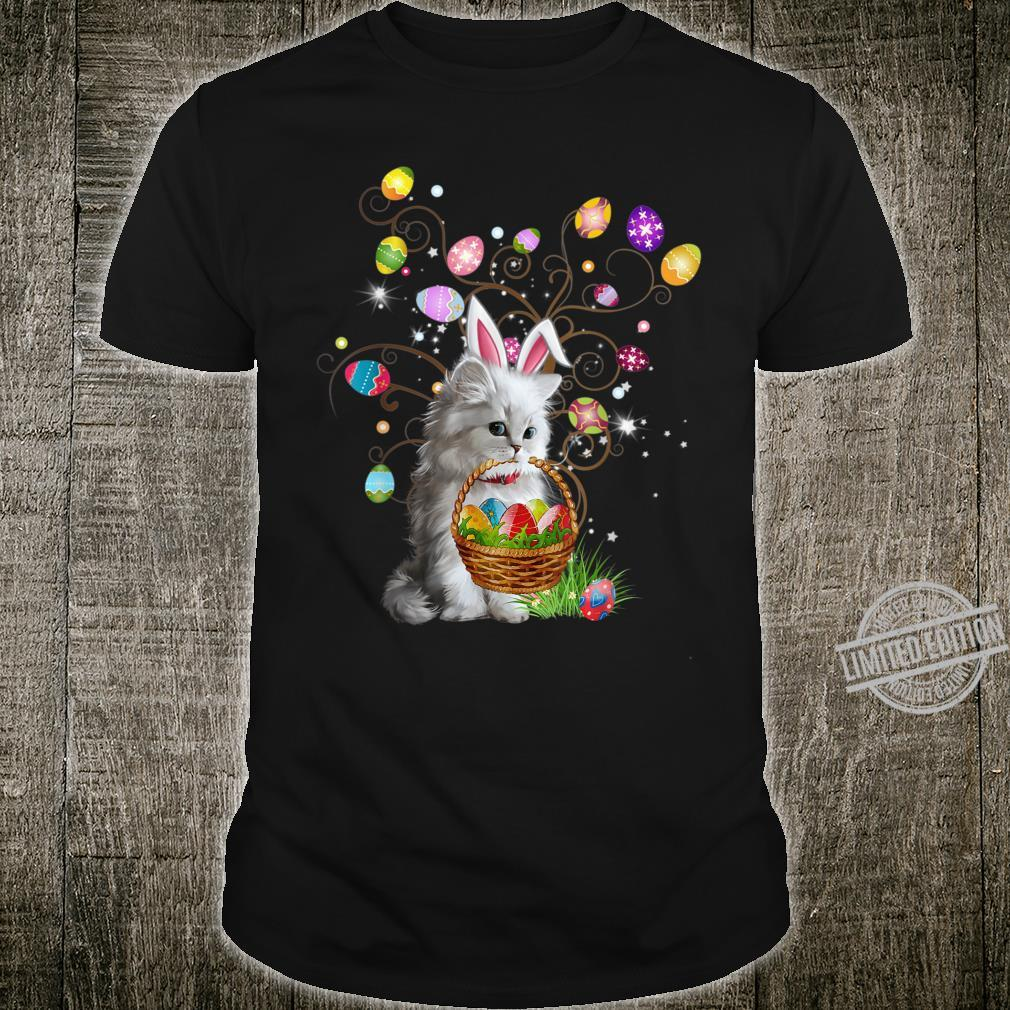 Cat Pet Hunting Egg Full Color Easter Day Shirt