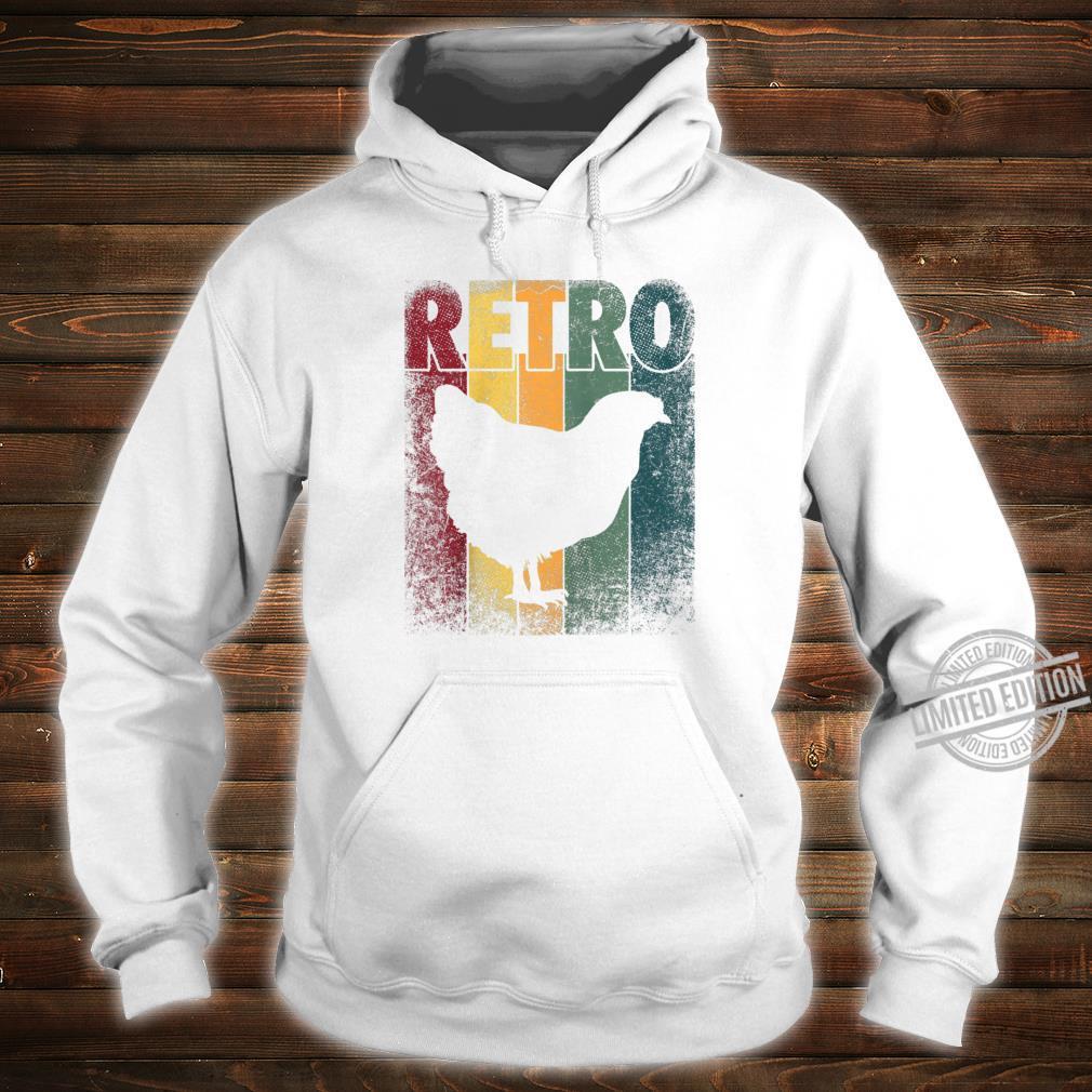 Chicken Bird Hen Vintage Retro Style Classic Shirt hoodie