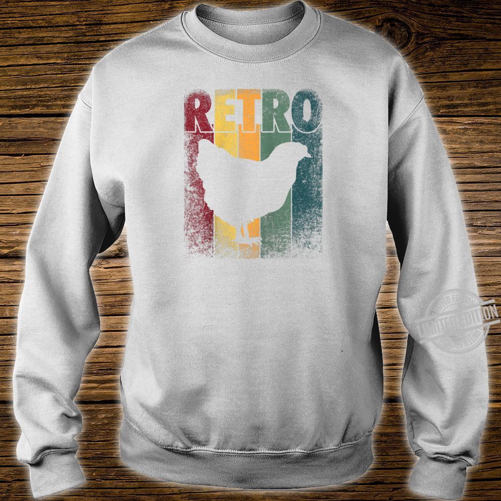 Chicken Bird Hen Vintage Retro Style Classic Shirt sweater