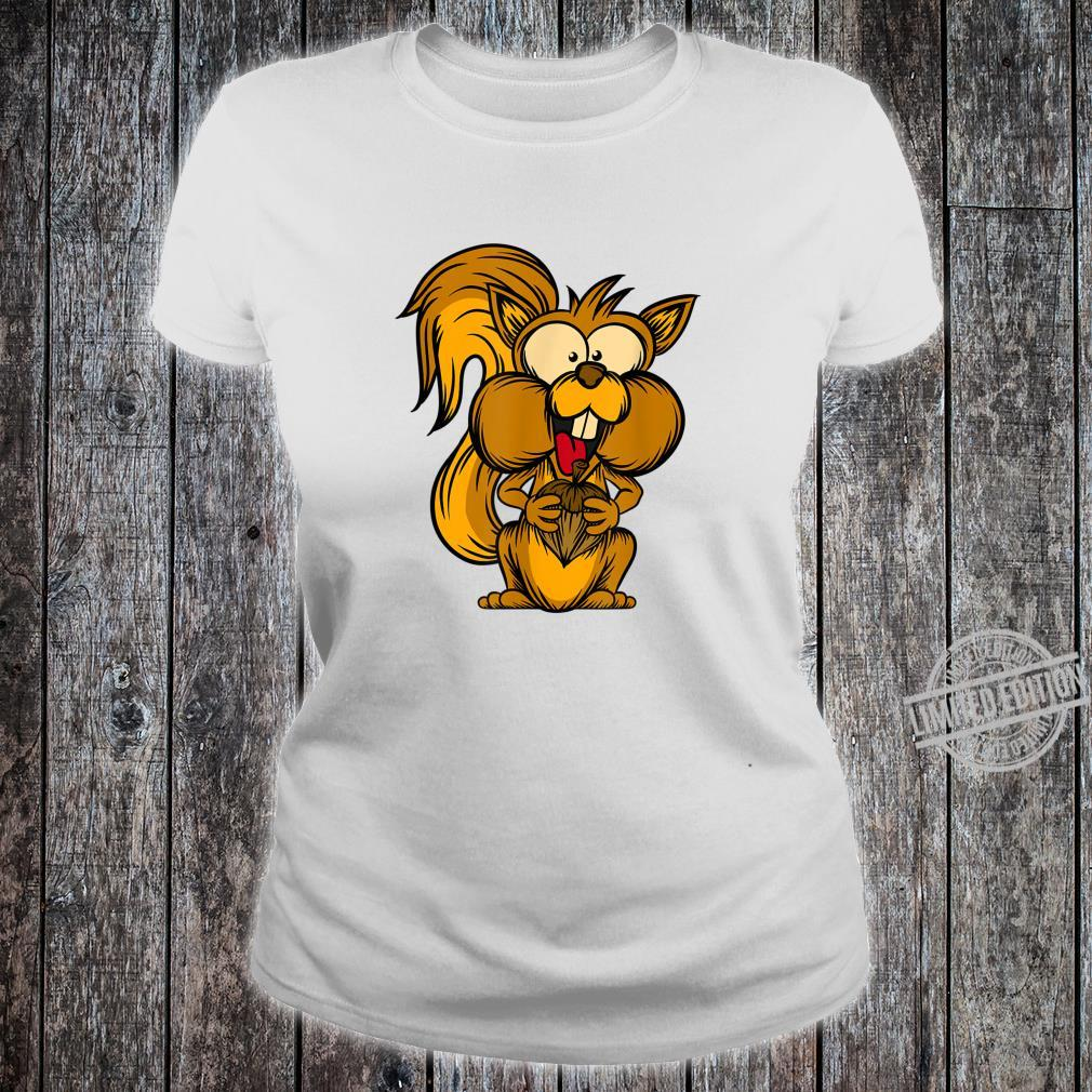 Chipmunk Forest Dweller Rodent Cute Squirrel Shirt ladies tee