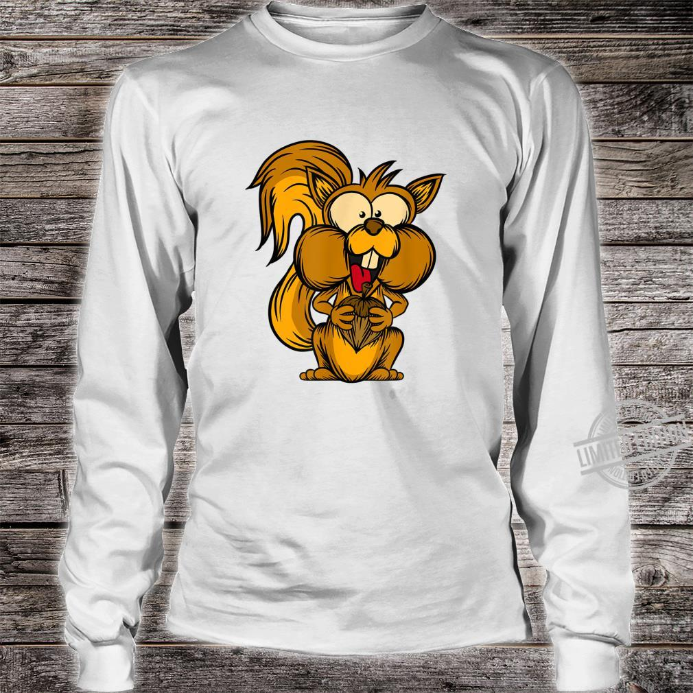 Chipmunk Forest Dweller Rodent Cute Squirrel Shirt long sleeved