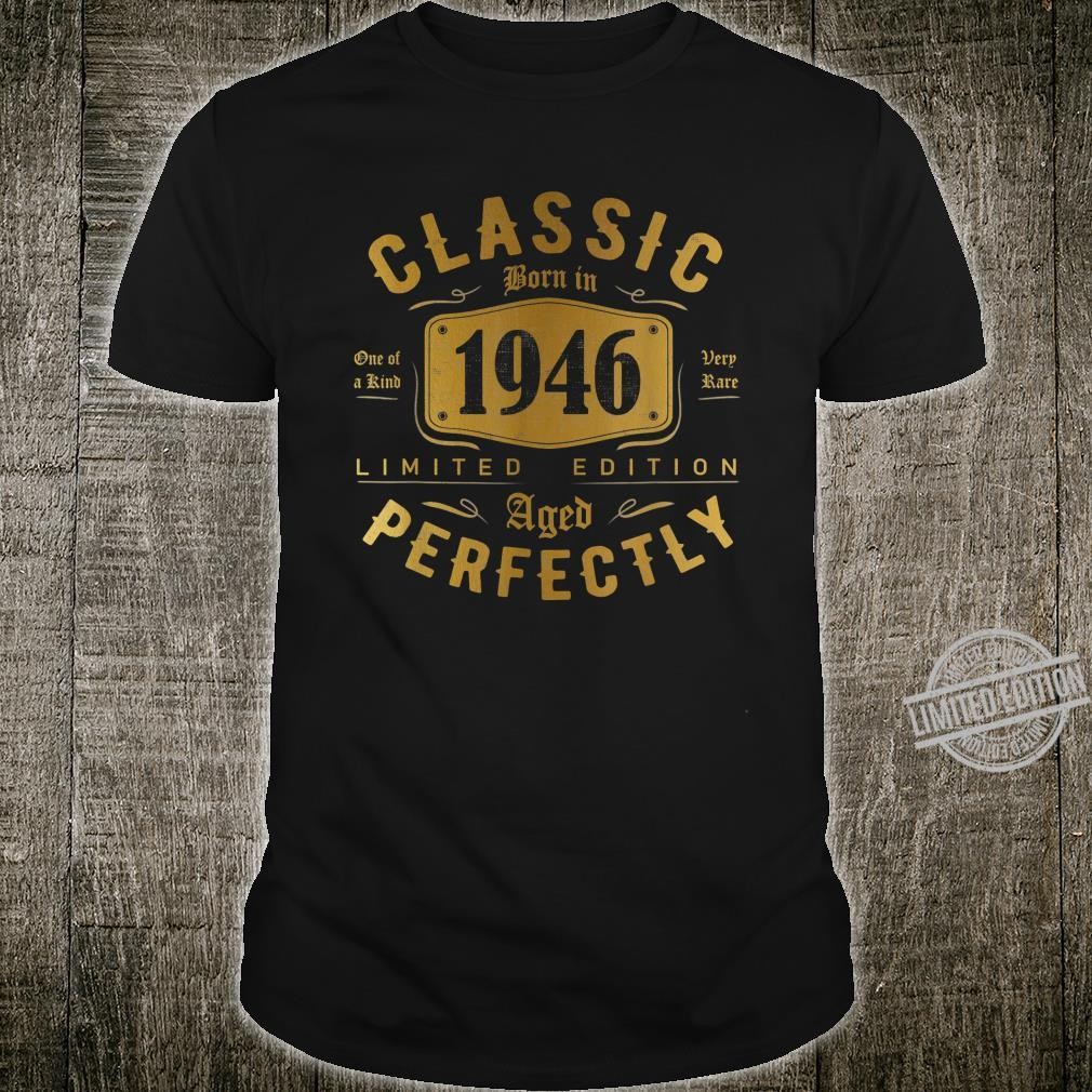 Classic 74th Birthday Vintage 1946 Shirt