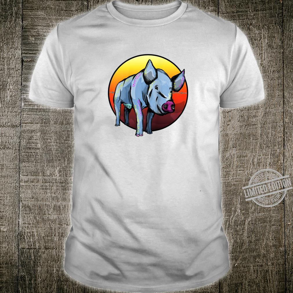 Colorful Pig Shirt
