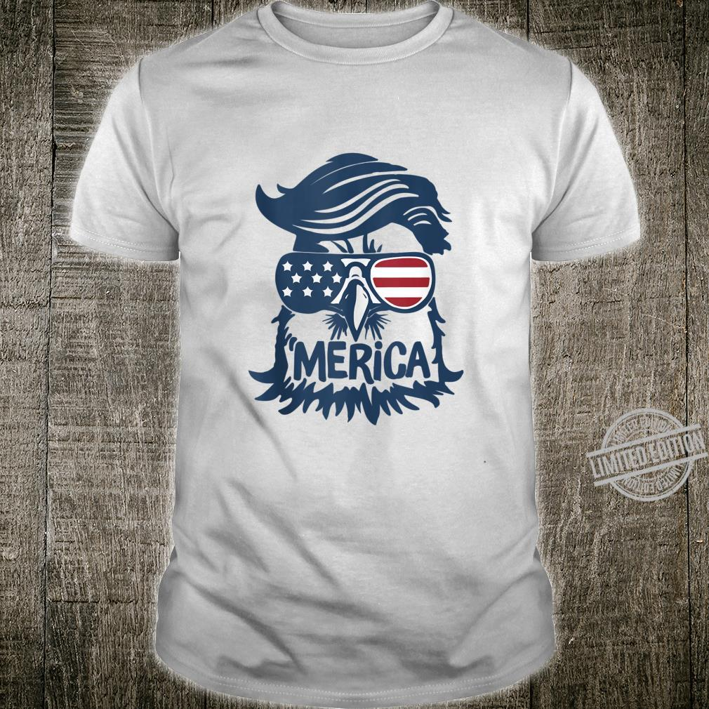 Cool American Flag Independence Eagle Shirt
