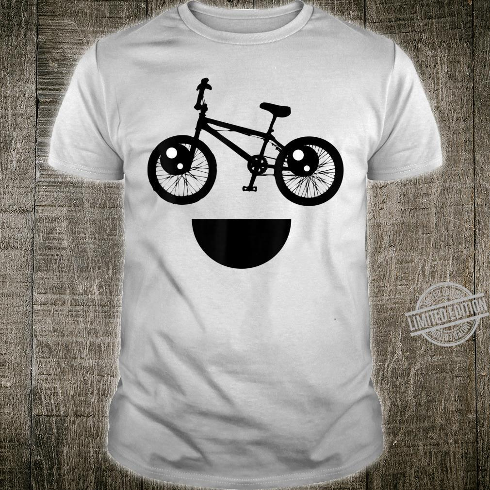 Cool And Smiling Bike For Cyclist Or Bikers Shirt
