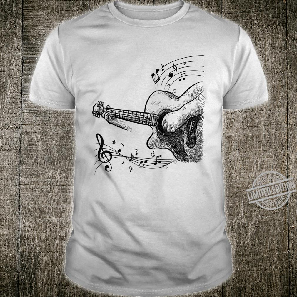 Cool Electric Musician Guitar Rock and Roll Shirt
