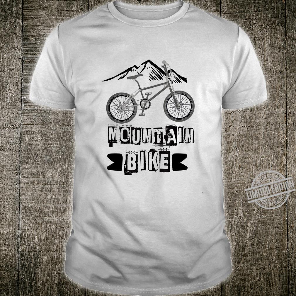Cool Mountain Biking Mountain Bike Mountain Climbers Shirt