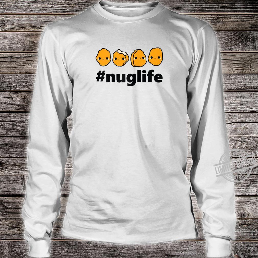 Cool Nug Life Chicken Nugget Cute Shirt long sleeved